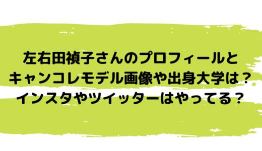 左右田禎子さんのプロフィールとキャンコレモデル画像や出身大学は?インスタやツイッターはやってる?