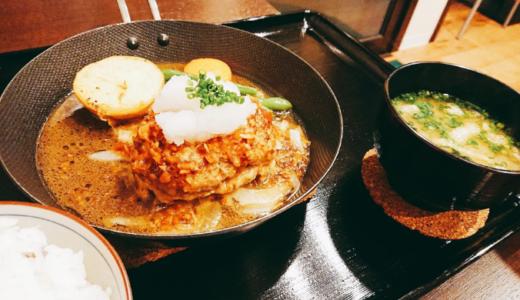 ハンバーグキッチン杏│長崎市でお肉ほろほろ絶品和風ハンバーグを口コミレポ!アツアツ鉄板でジューシー!